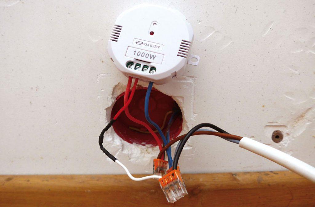 Résultat d'un montage pour radiateur avec fil pilote