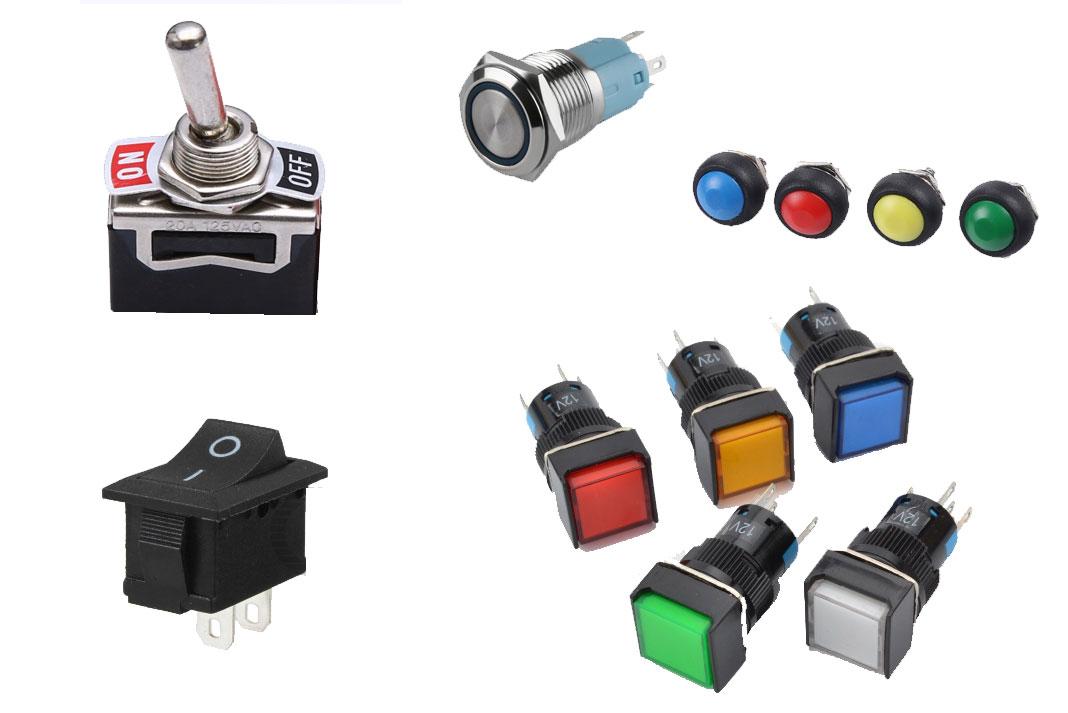 Différents types de boutons